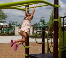 Numerous Neighborhood playgrounds